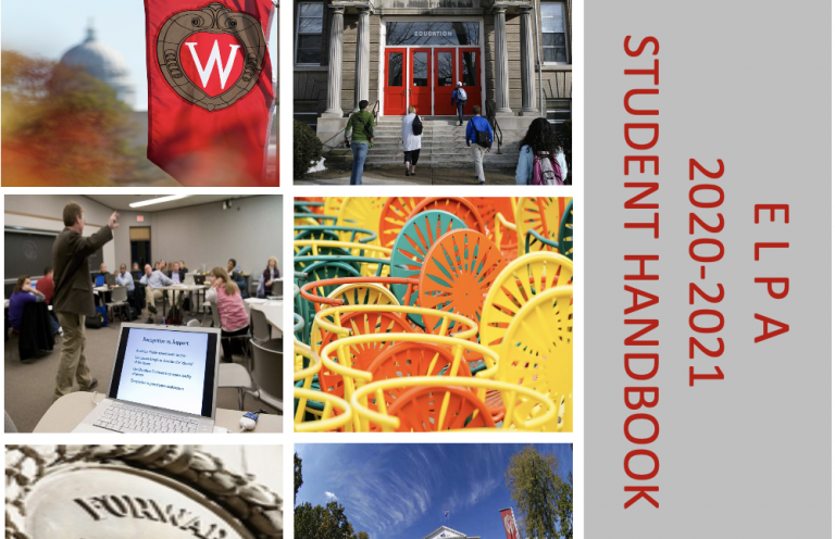 2020-21 elpa student handbook cover